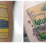 Pasión por la mayonesa: estos tatuajes te dejan con la boca abierta