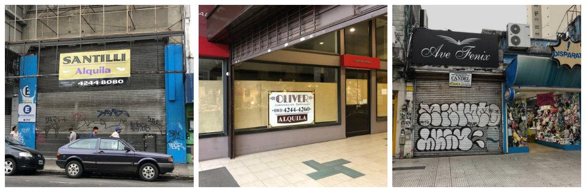 La crisis se extiende a los negocios del centro de Lomas