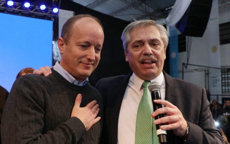 Alberto Fernández buscó el voto de los jubilados en Lomas