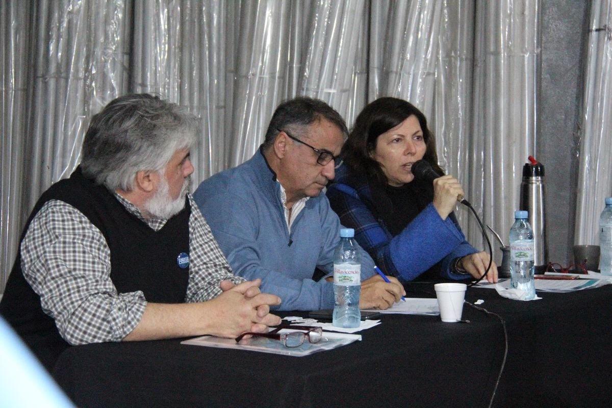 Batakis habló en un encuentro del Frente Productivo.