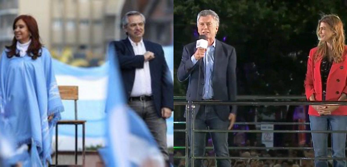 Fin de campaña: Macri pidió «cuidar el voto» y Alberto ir con «boleta completa»