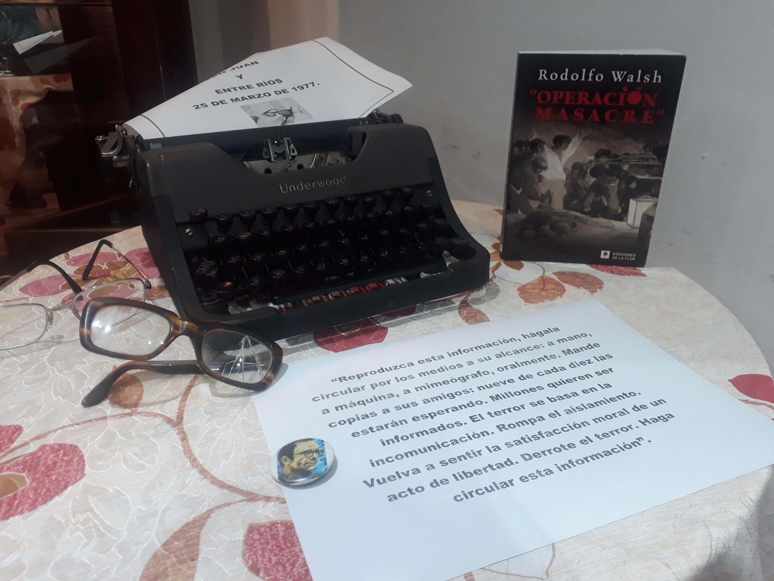 Homenajearon a Rodolfo Walsh en el Museo Americanista