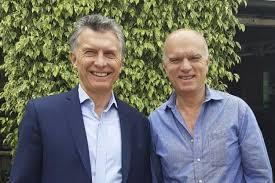 Grindetti y Macri