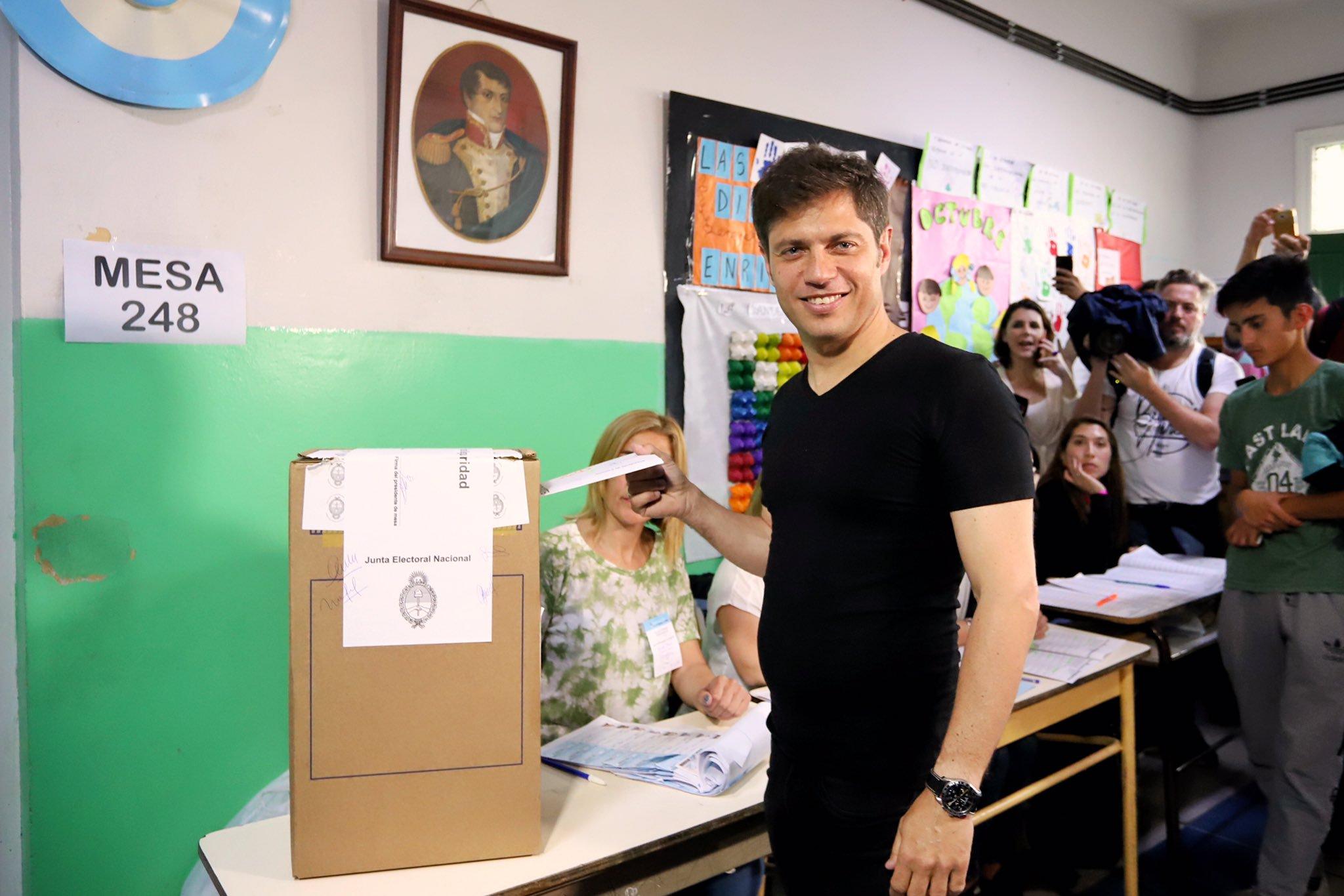 Kicillof ganó la gobernación bonaerense y obtuvo la mayoría en Diputados