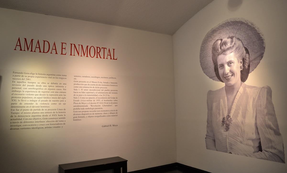 Una obra para mantener vivo el espíritu de Evita