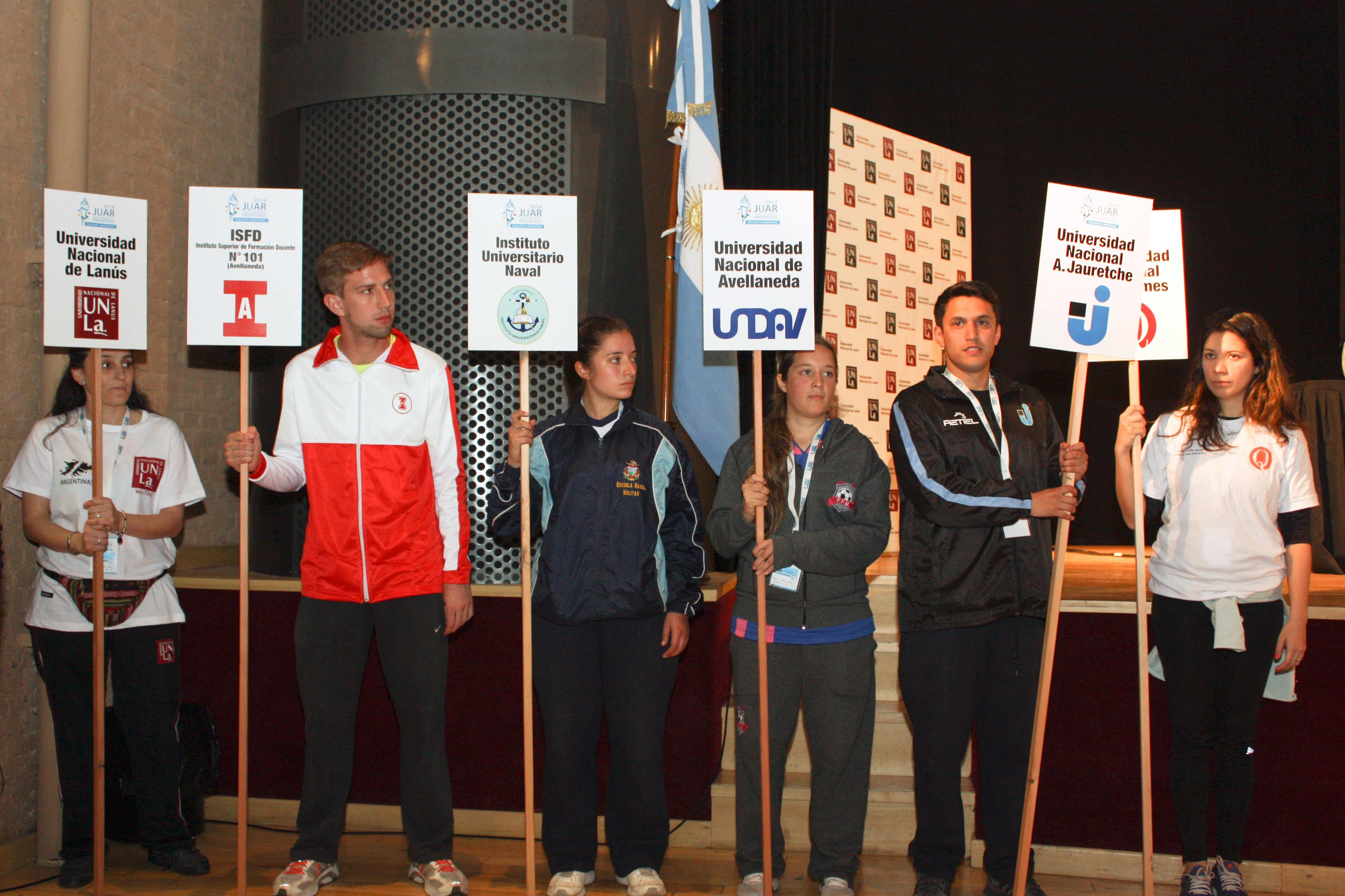 """Comenzaron los Juegos Universitarios """"Malvinas Argentinas"""""""