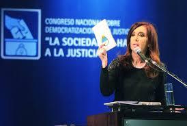 """Cristina: """"No vamos a proponer una reforma de la Constitución"""""""