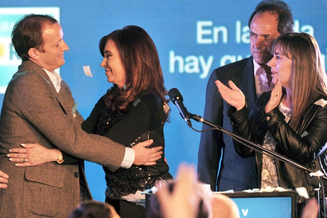 Para Cristina, los resultados obligan a «redoblar la militancia y los esfuerzos»