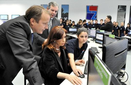 CFK inauguró un Centro de Protección Urbana en Lomas
