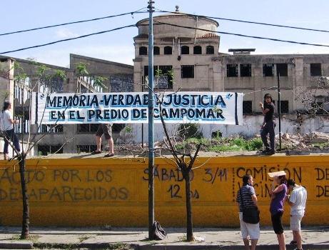 Un ex detenido-desaparecido aseguró haber pasado por la ex Campomar
