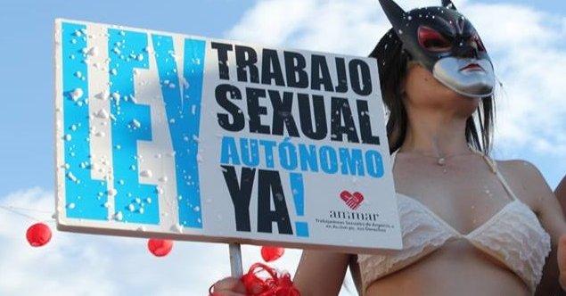 """AMMAR: """"Hay que diferenciar la trata de personas del trabajo sexual autónomo"""""""