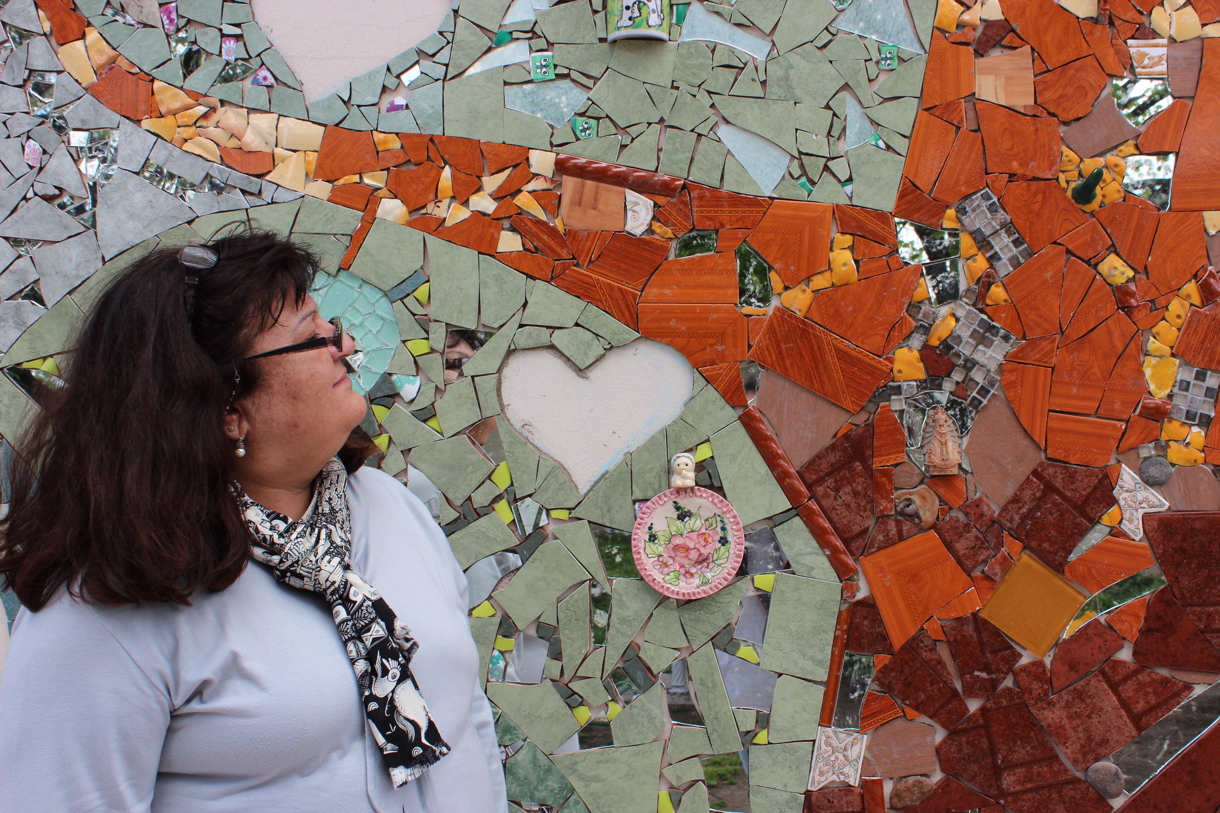 Arte colectivo y solidario para representar el trabajo de Casa Manu