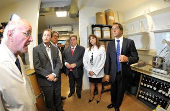 El Gandulfo ya tiene un laboratorio para producir medicamentos