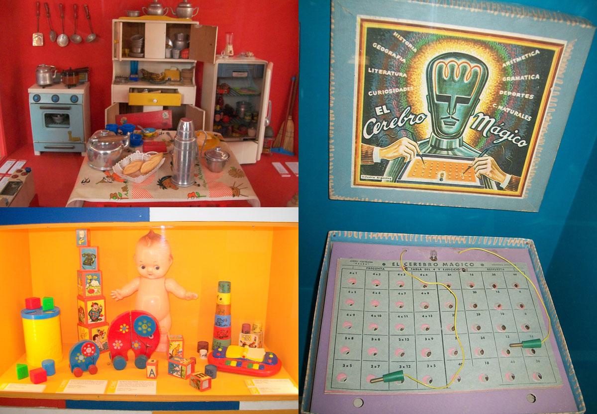 Un rincón donde los juguetes unen generaciones