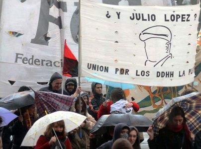 Nuevo reclamo por la desaparición de Julio López