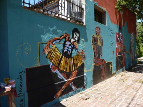 Pintar la calle: arte urbano en el sur