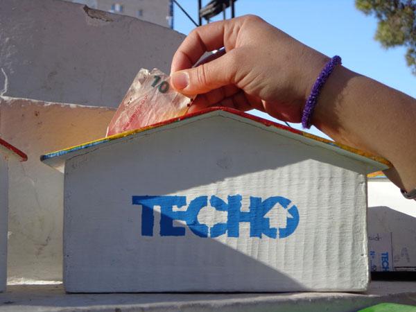 TECHO realizará una colecta en zona sur